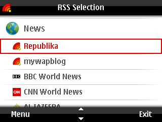 mobile rss reader